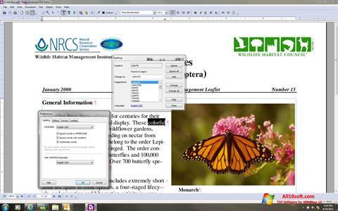 Ekran görüntüsü Foxit Advanced PDF Editor Windows 10