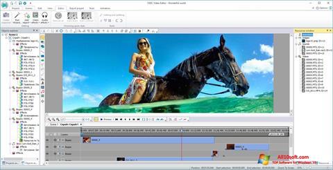 Ekran görüntüsü VSDC Free Video Editor Windows 10