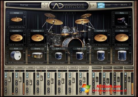 Ekran görüntüsü Addictive Drums Windows 10