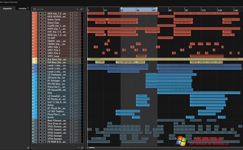 Ekran görüntüsü Nuendo Windows 10
