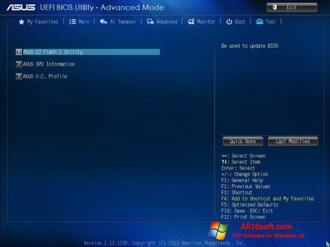 Ekran görüntüsü ASUS Update Windows 10