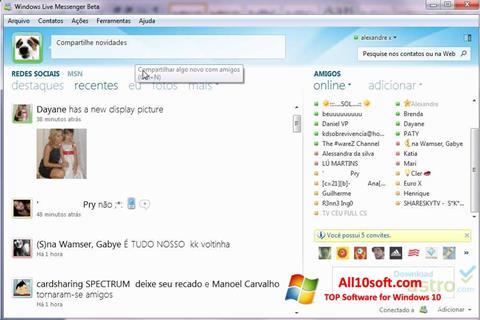 Ekran görüntüsü Windows Live Messenger Windows 10