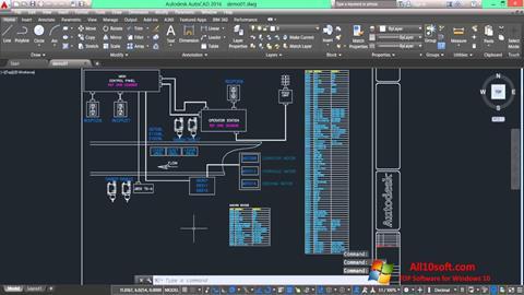 Ekran görüntüsü AutoCAD Electrical Windows 10