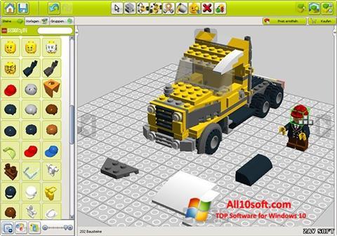 Ekran görüntüsü LEGO Digital Designer Windows 10