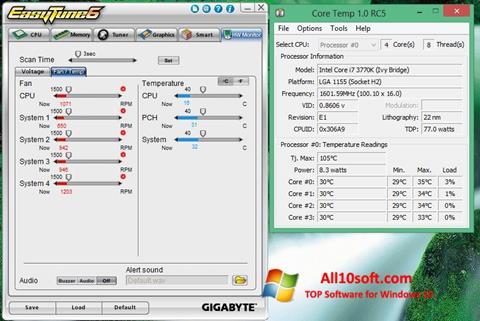 Ekran görüntüsü EasyTune Windows 10