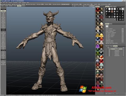 Ekran görüntüsü 3D-Coat Windows 10