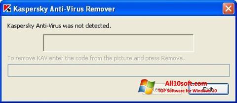 Ekran görüntüsü KAVremover Windows 10