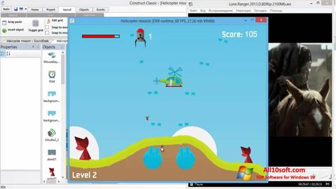 Ekran görüntüsü Construct Classic Windows 10
