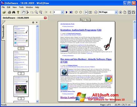 Ekran görüntüsü WinDjView Windows 10