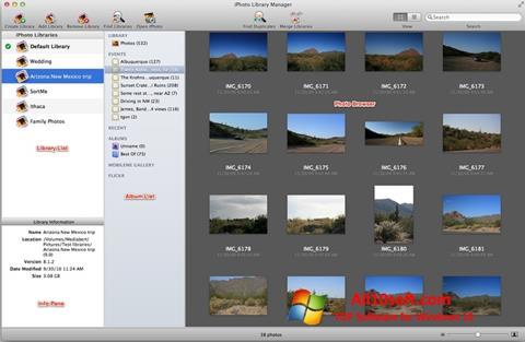Ekran görüntüsü iPhoto Windows 10