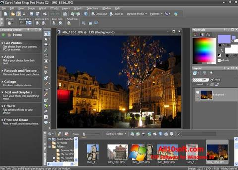 Ekran görüntüsü PaintShop Pro Windows 10