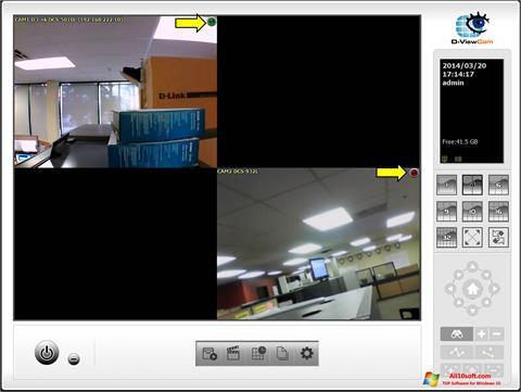 Ekran görüntüsü D-ViewCam Windows 10