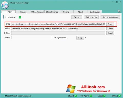 Ekran görüntüsü DownloadHelper Windows 10