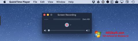 Ekran görüntüsü QuickTime Windows 10