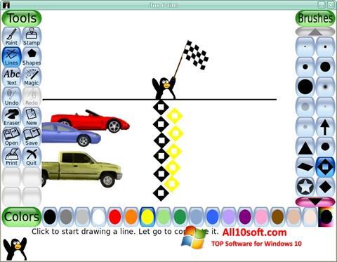 Ekran görüntüsü Tux Paint Windows 10