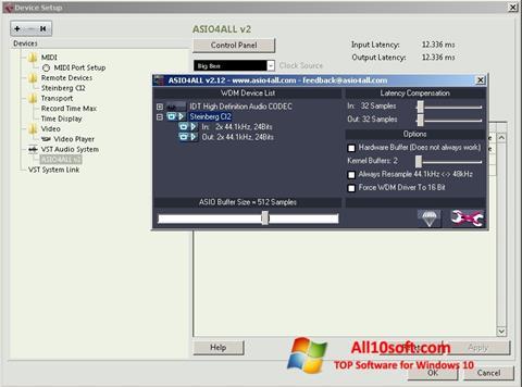 Ekran görüntüsü ASIO4ALL Windows 10