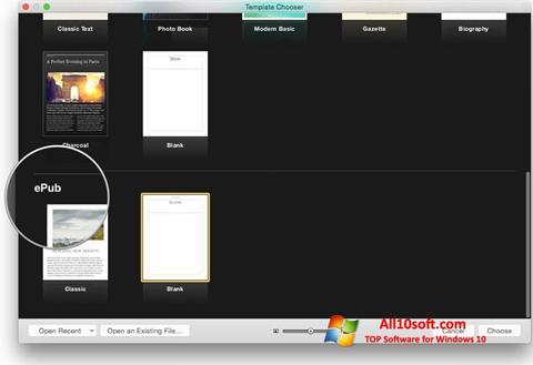 Ekran görüntüsü iBooks Windows 10