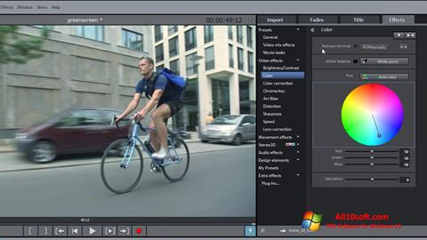 Ekran görüntüsü MAGIX Movie Edit Pro Windows 10