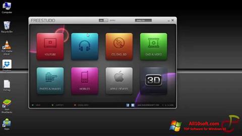 Ekran görüntüsü Free Studio Windows 10