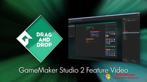 Ekran görüntüsü Game Maker Windows 10