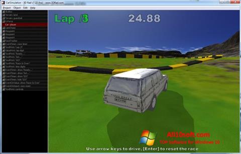Ekran görüntüsü 3D Rad Windows 10