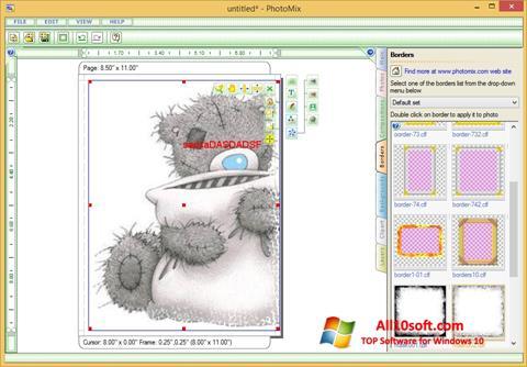 Ekran görüntüsü PhotoMix Collage Windows 10