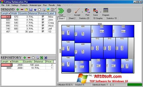Ekran görüntüsü Cutting Windows 10