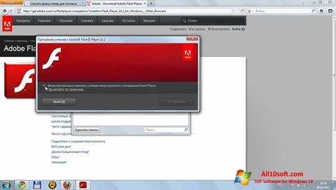 Ekran görüntüsü Flash Media Player Windows 10