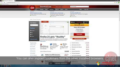 Ekran görüntüsü Comodo Dragon Windows 10