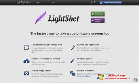 Ekran görüntüsü LightShot Windows 10