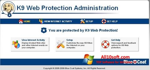 Ekran görüntüsü K9 Web Protection Windows 10