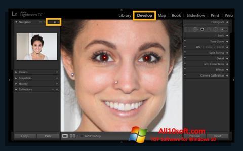 Ekran görüntüsü Red Eye Remover Windows 10
