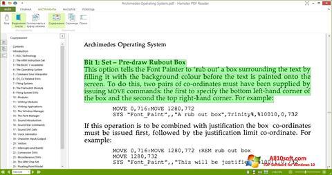 Ekran görüntüsü Hamster PDF Reader Windows 10