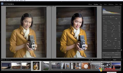 Ekran görüntüsü Adobe Photoshop Lightroom Windows 10