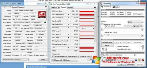 Ekran görüntüsü ATI Tray Tools Windows 10