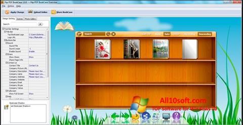 Ekran görüntüsü Bookshelf Windows 10