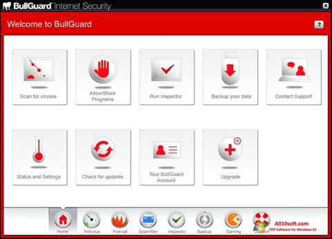 Ekran görüntüsü BullGuard Windows 10