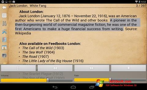 Ekran görüntüsü Cool Reader Windows 10