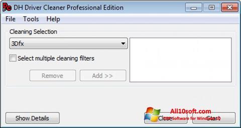 Ekran görüntüsü Driver Cleaner Windows 10