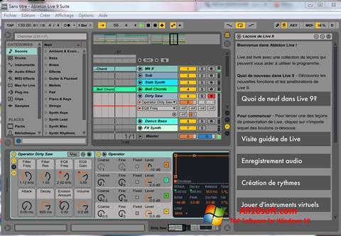 Ekran görüntüsü Ableton Live Windows 10