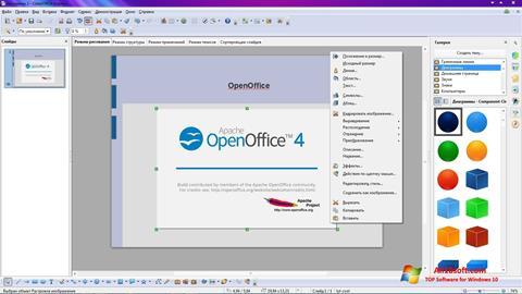 Ekran görüntüsü Apache OpenOffice Windows 10