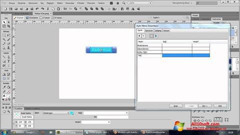 Ekran görüntüsü Adobe Fireworks Windows 10