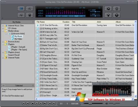 Ekran görüntüsü JetAudio Windows 10