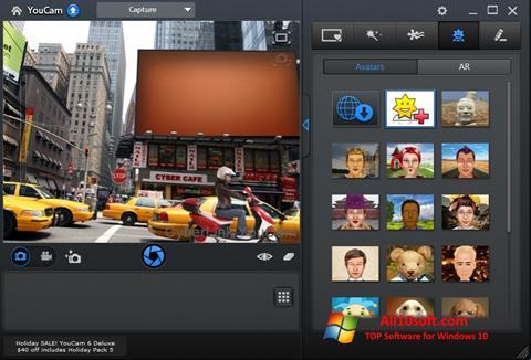 Ekran görüntüsü CyberLink YouCam Windows 10