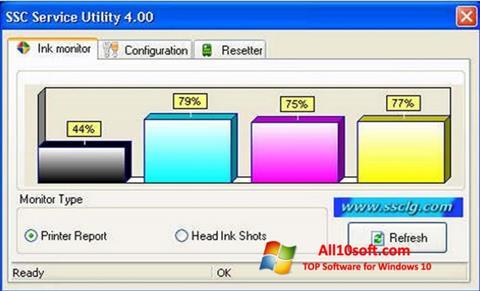 Ekran görüntüsü SSC Service Utility Windows 10