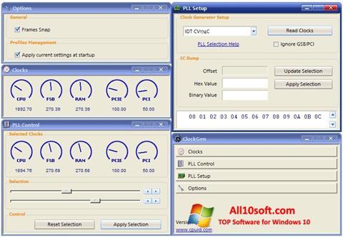 Ekran görüntüsü ClockGen Windows 10