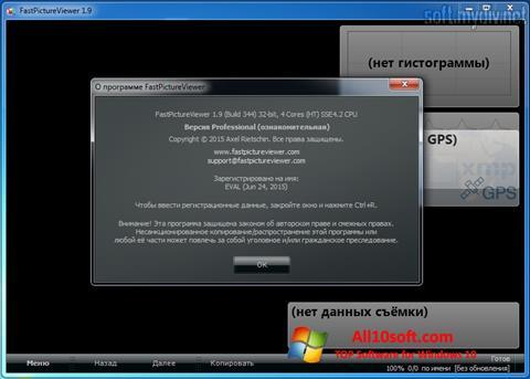 Ekran görüntüsü FastPictureViewer Windows 10