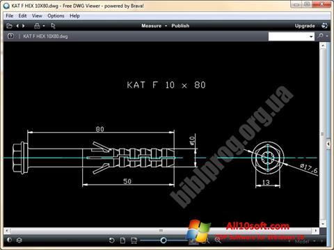 Ekran görüntüsü DWG Viewer Windows 10