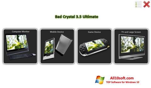 Ekran görüntüsü Bad Crystal Windows 10