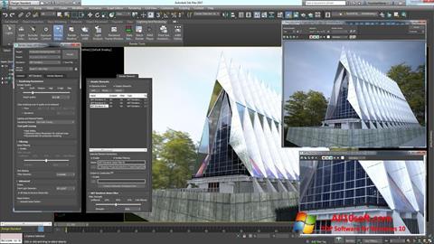 Ekran görüntüsü 3ds Max Windows 10